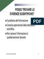 Fonti Delle Evidenze 2012 (Girotto)