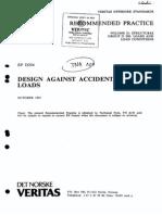 DNV RP D204 Design Against Accidental Loads