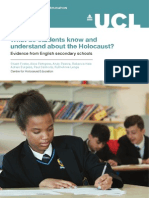 What Do Students Know and Understand About the Holocaust1
