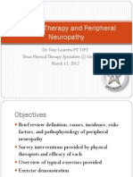 Physical Therapy and Peripheral Neuropathy