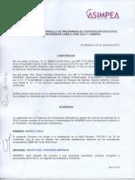 Asimpea Acuerdo Universidad Camilo José Cela