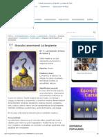 Oraculo Lenormand_ La Serpiente - La Magia Del Tarot