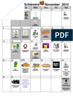 Arc Achievers Club Calendar November 2015 Final