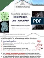 Cristalografia e Mineralogia