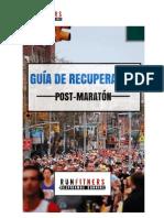 Guía Recuperación Maratón - Runfitners