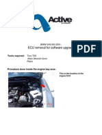 BMW E46 M3 ECU Removal Software