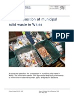 The Composition of Municipal Solid Waste in Wales 2010 Wag