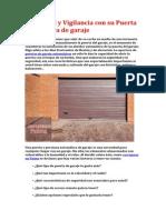 Ventajas de Puertas de Garaje Automáticas