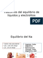 Trastornos Del Equilibrio de Líquidos y Electrolitos