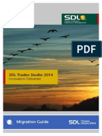 SDL Trados Studio 2014 SP1 Migration Guide