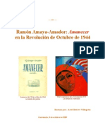 Ramon Amaya Amador Amanecer