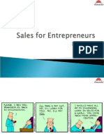Sales for Entrepreneur - Wrap Up