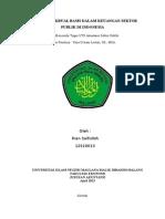 Penerapan Akrual Basis Dalam Laporan Keuangan Sektor Publik Di Indonesia