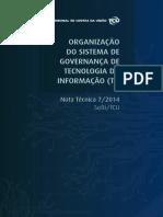 Organização Do Sistema de Governança de Tecnologia Da Informação (TI)