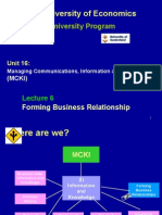 2.4 Forming Business Relationship (1)