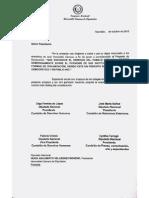 Declaración de Cámara de Diputados de Paraguay por Cuba Decide