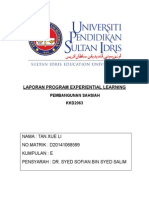 LAPORAN PROGRAM EXPERIENTIAL LEARNING MS DEPAN.docx