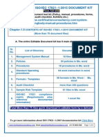 ISO 17021-1:2015 Documentation Kit on Certifying Body