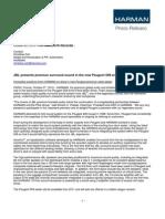 Peugeot 508 Press Release_061010_EN