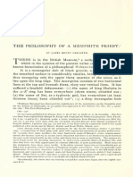 The Philosophy of a Memphite Priest.pdf