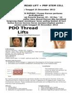 PDO Thread Lifts