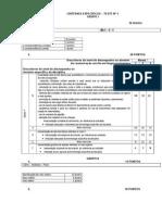 Critérios Específicos de Correção Teste 1 - 11º