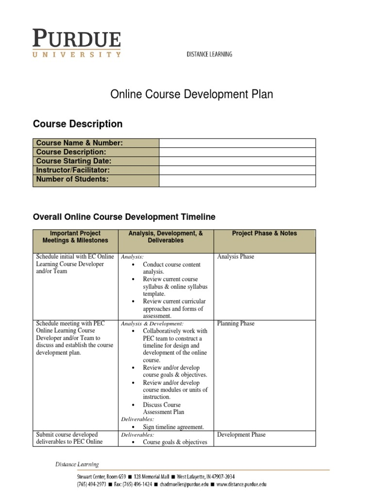 Puo Cdp Template Educational Technology Educational Assessment