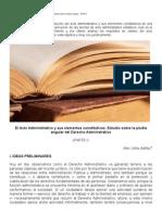 El Acto Administrativo - Procesal Administrativo