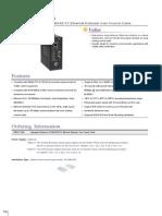 EtherWAN ED3371-00B Data Sheet