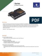 EtherWAN EL100C-20 Data Sheet