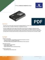 EtherWAN EL2321-41U Data Sheet