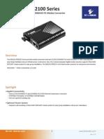 EtherWAN EM1100TSC Data Sheet