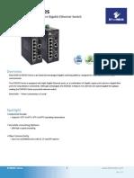 EtherWAN EX35080-00B Data Sheet