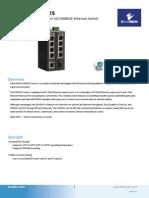 EtherWAN EX42005-00-1-A Data Sheet