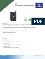 EtherWAN EX42205-0T Data Sheet