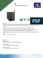 EtherWAN EX45080-00B Data Sheet