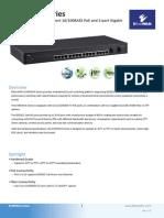 EtherWAN EX49162A-01T Data Sheet