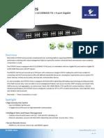 EtherWAN EX75604-04VGT Data Sheet