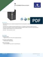 EtherWAN EX95160-00B Data Sheet