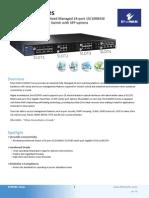 EtherWAN M29060-A00 Data Sheet