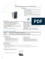 EtherWAN EX36180-00B Data Sheet