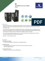 EtherWAN EX71801-03B Data Sheet