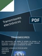 Transmisores electrónicos