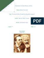 resumen del manifiesto comunista
