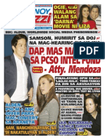 Pinoy Parazzi Vol 8 Issue 131 October 30 - November 01, 2015