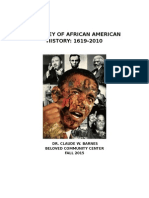 African American History Syllabus for BCC Fall 2015