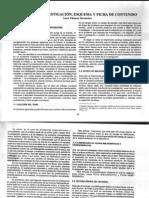 Pasos de la investigación, esquema y fichas de contenido