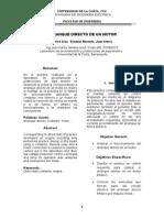 Informe Lab de Accionamiento y Protecciones -Arranque Directo de Un Motor