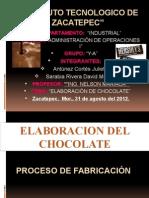 presentacion cacao Chocolate