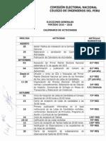 Elecciones CDL